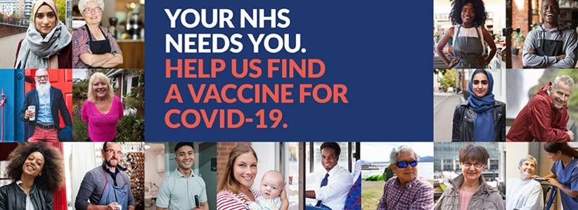 New NHS service enables people to sign up to be contacted for COVID-19 vaccine studies